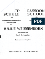Weissenborn 0 Bassoon School
