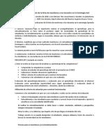 Acta de socialización de la ficha de monitoreo a los docentes en la Estrategia AeC alicia