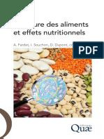 Extrait Structure Des Aliments Et Effets Nutritionn