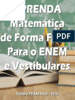 APRENDA MATEMATICA DE FORMA FAC - Editora PESAFRA