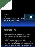 Diskusi Topik Farah 02 Penyakit Arteri Perifer pada Hipertensi 22 April 2010