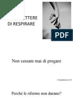 Perchè Le Riforme Non Durano
