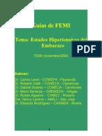 GUIAS DE MANEJO DE LOS ESTADOS HIPERTENSIVOS DEL EMBARAZO FEMI