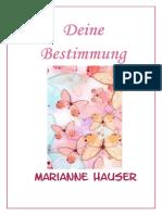 Deine Bestimmung 4_2013 - Marianne Hauser