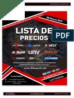 Lista De Precios Dasa Technology - Marzo 10 2021