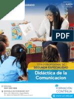 DIDACTICA DE LA COMUNICACION (1)