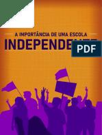 CARTILHA_ A IMPORTANCIA DE UMA ESCOLA INDEPENDENTE