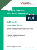 Deutsch Deklination De