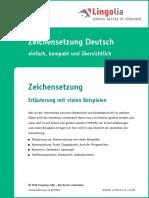 Deutsch Zeichensetzung De