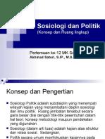 Sosiologi Dan Politik2