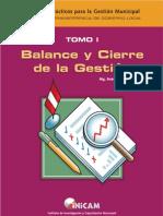 9.- MANUAL PARA BALANCE Y CIERRE DE LA GESTION