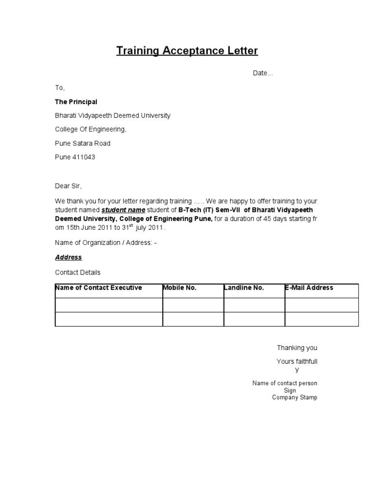 Training acceptance letter 1536671802v1 altavistaventures Gallery
