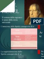 5. Hegel. Il sistema. Lo spirito assoluto
