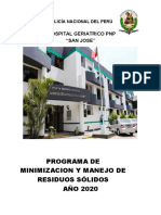 PROGAMA DE MANEJO DE RESIDUOS SOLIDOS