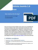Voorbeelddata verwijderen in Joomla 1.6 - Tips en Tools Voor Joomla! 1.6