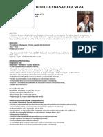 CV - Solange Tieko Lucena Sato Da Silva