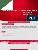 Siderperu Estudio de MEcanica de Suelos RNE E 050