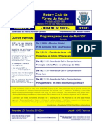 ROTARY Programa Abril 11