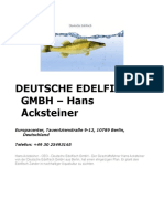 Deutsche Edelfisch GmbH – Hans Acksteiner
