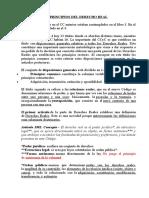 PRINCIPIOS DEL DERECHO REAL