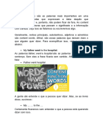 Content Words vs Function Words