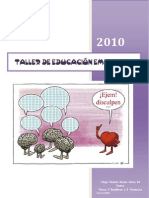 TALLER DE EDUCACIÓN EMOCIONAL 2010