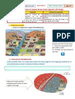ACTIVIDAD 3- 17 Diseñamos El Croquis de Las Zonas Seguras y de Riesgo