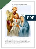 Reunião Da Pastoral Familiar 21 03 21
