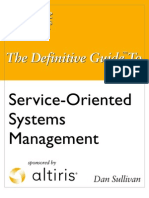 Definitive Guide to Service-Oriented System Management