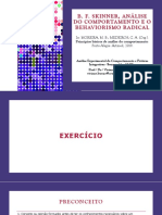 B. F. Skinner, Análise do Comportamento e o Behaviorismo Radical