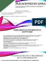 HERRAMIENTAS INFORMATICAS Y POLITICAS DE SEGURIDAD