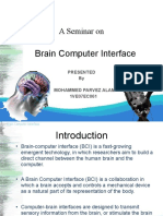 Brain Computer Interface Final Ppt