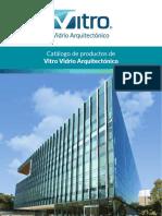 Catalogo Vitro Vidrio Arquitectonico 2019