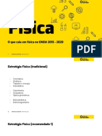 Incidencia Fisica e Biologia ENEM 2020