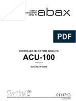 SATEL acu100 it Manuale