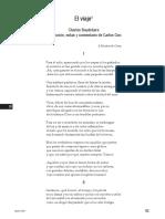 El viaje (Baudelaire), trad Carlos Ciro