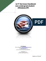 Student IT handbook 2009 -XP v1 3