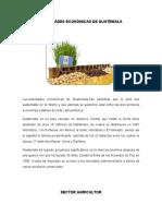 Actividades Económicas de Guatemala (2)