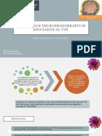 Trastornos neurodegenerativos asociados al VIH