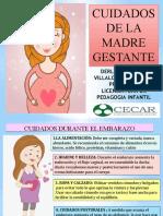 CUIDADOS DE LA MADRE GESTANTE