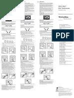 Manual de Uso Fonendoscopio 5079-135
