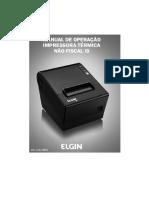 Manual do usuário Elgin i9