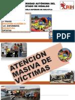 3.1 ATENCIÓN MASIVA DE VÍCTIMAS y clasificacion de pacientes (triage)