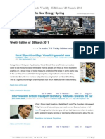 World Streets Weekly Edition of 28 Mar 2011