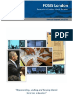 FOSIS London Annual Report 2010-11
