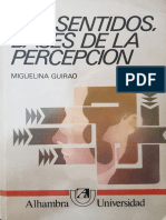Los Sentidos, Bases de La Percepción - Miguelina Guirao