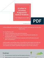 NLG Letter to Incoming Progressive Radical Students - Stanford Law School