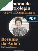 Semana Da Astrologia - Resumo Aula 1 (1)