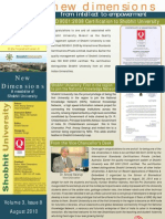 Shobhit University Newsletter Vol 3 Issue 8