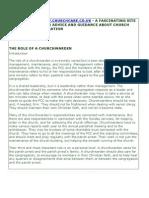 Duties and Responsibilities of Churchwardens 2011